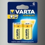 БАТАРЕЙКА VARTA SUPERLIFE C BLI 2 ZINC-CARBON (02014101412)