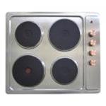 Электрическая варочная поверхность VENTOLUX HE 604 INOX 1