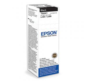 ЧЕРНИЛА EPSON L100/L200 BLACK (C13T66414A) 70 МЛ