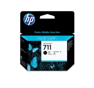 КАРТРИДЖ HP NO.711 (CZ133A) BLACK 80ML