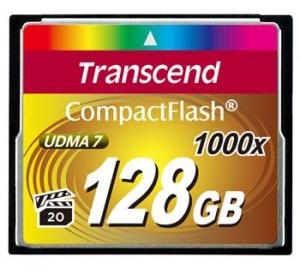 Карта памяти Transcend CF 128GB(1000X) (TS128GCF1000)