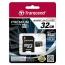 Карта памяти Transcend Premium microSDHC 32GB Class 10 UHS-1 (TS32GUSDU1)