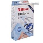 Сменные мешки-пылесборники 4 шт FILTERO ELX 02 экстра (4)