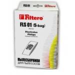 Сменные мешки / пылесборники 4 шт  FILTERO Эконом FLS 01 (4)