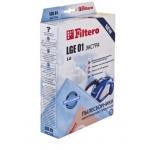 Сменные мешки / пылесборники 4 шт FILTERO LGE 01 экстра