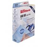 Сменные мешки / пылесборники 4 шт FILTERO LGE 03 экстра