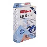 Сменные мешки / пылесборники 4 шт FILTERO SAM 02 экстра