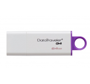 Флеш память USB USB 3.0 KINGSTON 64GB DATATRAVELER G4 VIOLET (DTIG4/64GB)