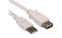 Кабель УДЛИНИТЕЛЬ ATCOM USB 2.0 0.8M AM/AF