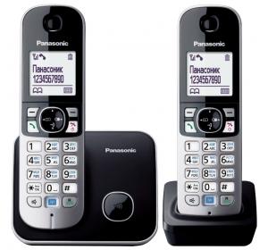 Panasonic KX-TG6812UAB Black