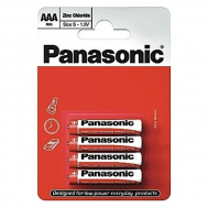 PANASONIC RED ZINK R03 BLI 4 ZINK-CARBON (R03R ...