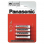 Panasonic RED ZINK R03 BLI 4 ZINK-CARBON (R03REL/4BP)