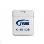 Флеш память USB USB TEAM 8GB C12G (TC12G8GW01) WHITE