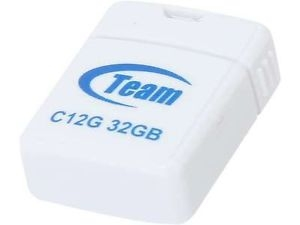 Флеш память USB USB TEAM 32GB C12G (TC12G32GW01) WHITE