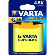 VARTA SUPERLIFE 3R12P FOL 1 ZINC-CARBON (02012 ...