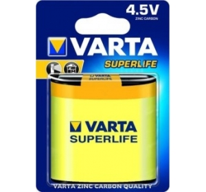 VARTA SUPERLIFE 3R12P FOL 1 ZINC-CARBON (02012101301)