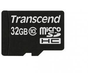 TRANSCEND 32GB MICROSD CLASS 10 NO ADAPTER (TS32GUSDC10)
