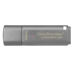Флеш память USB USB 3.0 KINGSTON 32 GB DATATRAVELER LOCKER+ G3 (DTLPG3/32GB)