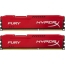 DDR3 2x4 ГБ 1600 МГц PC3-12800 Kingston HyperX Fury Red (HX316C10FRK2/8)