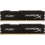 DDR3 2x4 ГБ 1600 МГц PC3-12800 Kingston HyperX Fury Black (HX316C10FBK2/8)