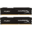 DDR3 2x8 ГБ 1600 МГц PC3-12800 Kingston HyperX Fury Black (HX316C10FBK2/16)