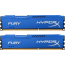 DDR3 2x8 ГБ 1600 МГц PC3-12800 Kingston HyperX Fury Blue (HX316C10FK2/16)