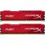 DDR3 2x8 ГБ 1600 МГц PC3-12800 Kingston HyperX Fury Red (HX316C10FRK2/16)