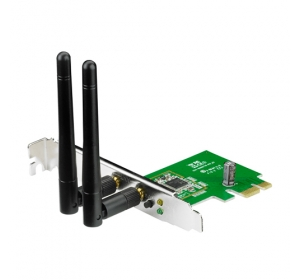 ASUS PCE-N15 PCI-E, 802.11N, 300MBPS (90-IG1U003M00-0PA0)