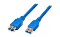 Кабель ATCOM УДЛИНИТЕЛЬ USB 3.0 AM/AF 0.8 М BLUE
