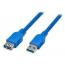 ATcom удлинитель USB 3.0 AM/AF 1.8 м blue