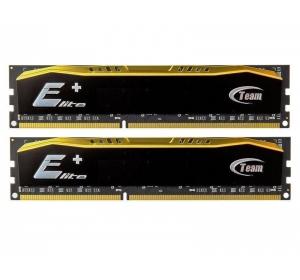 DDR4 DDR4 2x4 ГБ 2400 МГц PC4-19200 Team Elite Plus Black (TPD48G2400HC16DC01)