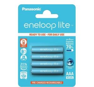 PANASONIC ENELOOP LITE AAA 550 4BP MAH NI-MH (BK-4LCCE/4BE)
