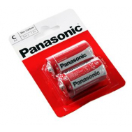 PANASONIC RED ZINK R14 BLI 2 ZINK-CARBON (R14R ...