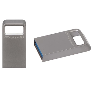 Флеш память USB KINGSTON 64GB DT MICRO USB 3.1 (DTMC3/64GB) METAL SILVER