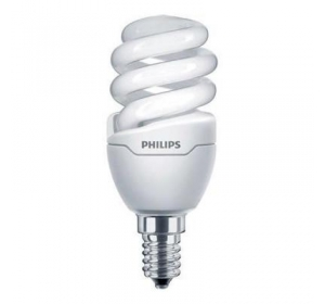 PHILIPS E14 8W 220-240V WW 1PF/6 TORNADO T2 MINI (929689174303)
