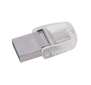 Флеш память USB USB3.1 KINGSTON DATATRAVELER MICRODUO 3C 32GB (DTDUO3C/32GB)