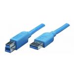 КАБЕЛЬ ATCOM USB 3.0 AM-BM 1.8 М BLUE