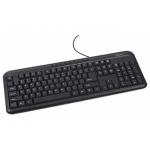 Клавиатура GEMBIRD KB-U-103-UA BLACK (KB-U-103-UA)