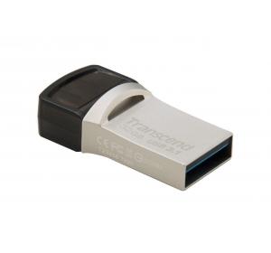 Флеш память USB USB 3.1 TYPE-C/ TYPE-A TRANSCEND 32 ГБ JETFLASH 820 (TS32GJF890S)