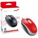 Мышка GENIUS DX-120 USB RED (31010105104)
