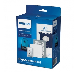 Комплект сменных мешков и фильтров S-bag PHILIPS FC 8074/01