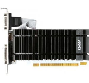 MSI NVIDIA GEFORCE GT 730 LOW PROFILE SILENT GDDR3 1024 МБ (N730K-2GD3H/LP)