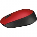 Мышка МЫШЬ LOGITECH M171 RED/BLACK 910-004641