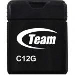 Флеш память USB TEAM C12G 4GB BLACK (TC12G4GB01)