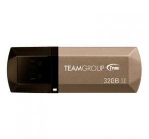 Флеш память USB USB 3.0 TEAM 32GB C155 GOLDEN (TC155332GD01)