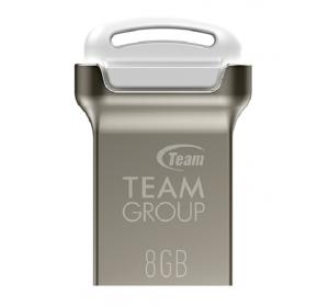 Флеш память USB USB 8GB TEAM C161 WHITE TC1618GW01