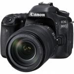 CANON EOS 80D + ОБЪЕКТИВ 18-135 IS NANO USM (1263C040)