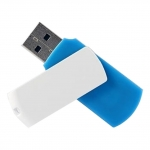 Флеш память USB GOODRAM 16GB COLOUR MIX BLUE/WHITE USB 2.0 (UCO2-0160MXR11)