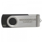 Флеш память USB GOODRAM 16GB TWISTER BLACK USB 2.0 (UTS2-0160K0R11)