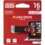 Флеш память USB GOODRAM 16GB Twister Red USB 3.0 (UTS3-0160R0R11)